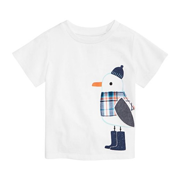 First Impressions Other - NWT First Impressions Penguin White T-Shirt 12mo